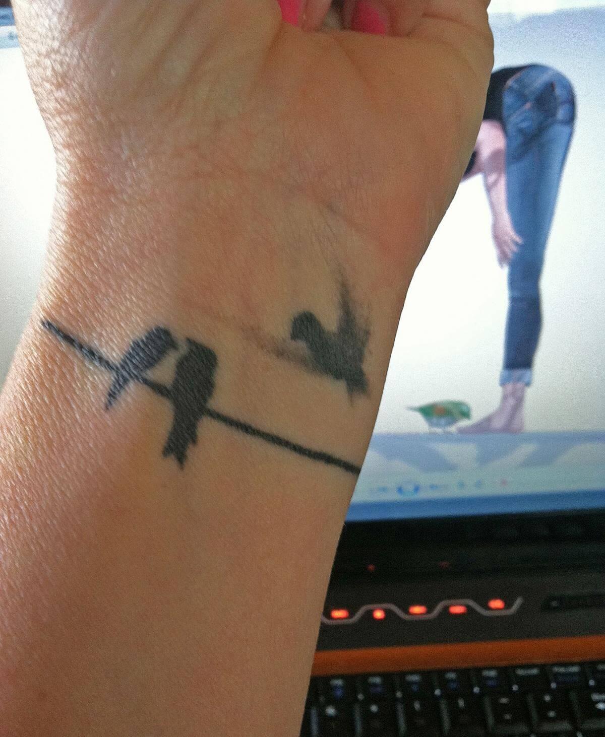 Gallery with birds on wrist tattoos tattoo designs for women for Bird tattoos on wrist