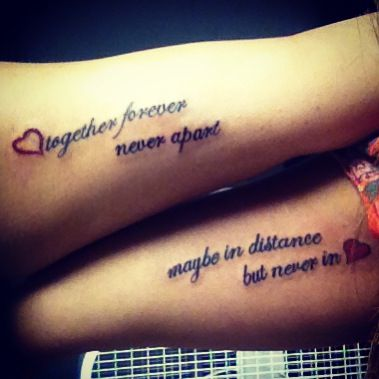 matching tattoos for best friends tattoo designs for women. Black Bedroom Furniture Sets. Home Design Ideas